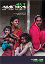 Generation Nutrition – a new campaign to end child deaths from acute malnutrition