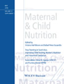 Improving Child Feeding, Women's Nutrition and Household Sanitation